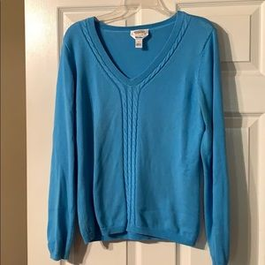Blue Talbots Sweater